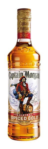 Captain Morgan Spiced Gold 0,7 l