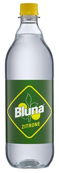 Bluna Zitronelimonade 12x1,0 l