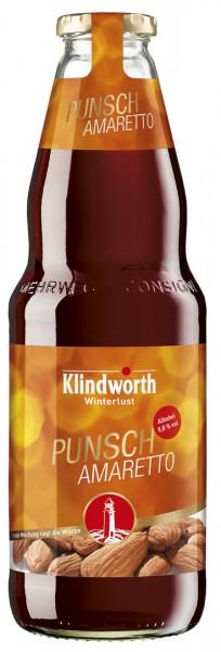 Klindworth Punsch Amaretto 6x1,0 l