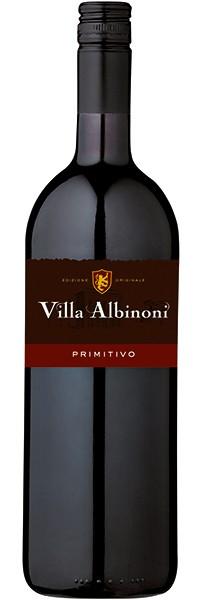 Primitivo Puglia IGT, Villa Albinoni, Veneto 1,0l