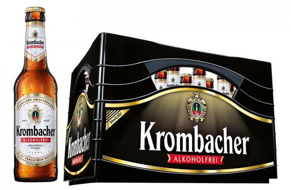 Krombacher Alkoholfrei 24x0,33 l