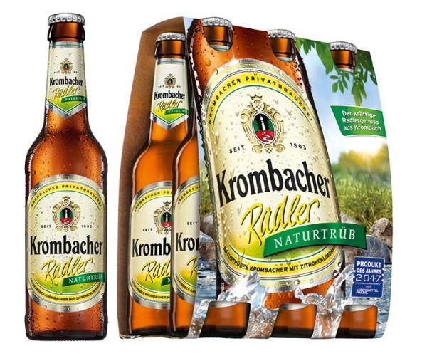 Krombacher Radler natur 6er Pack 24x0,33 l