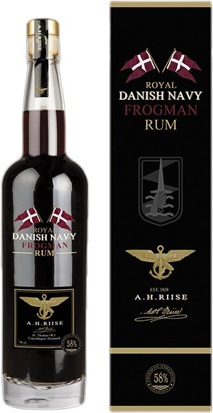 A.H.Riise Frogman Royal Navy Rum 0,7 l