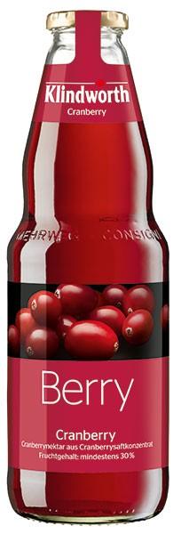 Klindworth Cranberrynektar 6x1,0 l