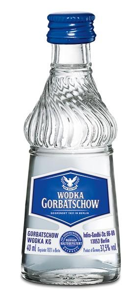 Gorbatschow Wodka 20x0,04 l