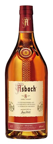 Asbach 8 Jahre 0,7 l