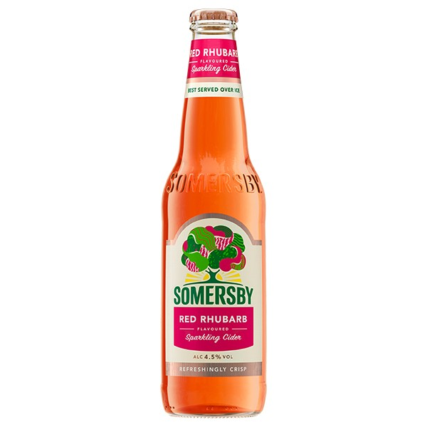 Somersby Red Rhubart 24x0,33 l