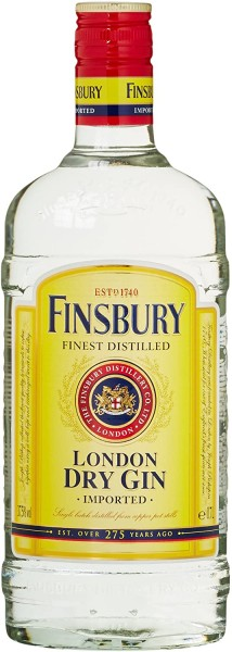 Finsbury Dry Gin 1,0 l