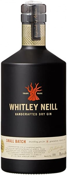 Whitley Neill Dry Gin 0,7 l