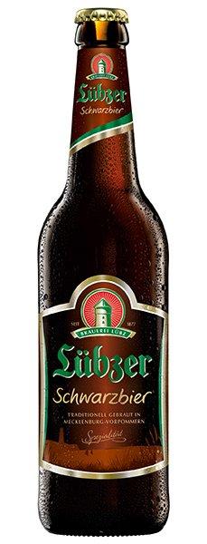 Lübzer Schwarzbier 11x0,5l Kiste
