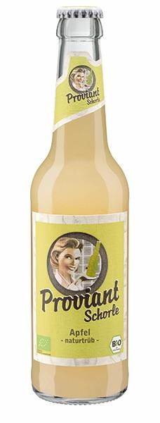 Proviant Apfelschorle Bio 24x0,33 l