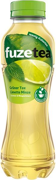 Fuze Tea Grüner Tee Limette-Minze 12x0,4 l