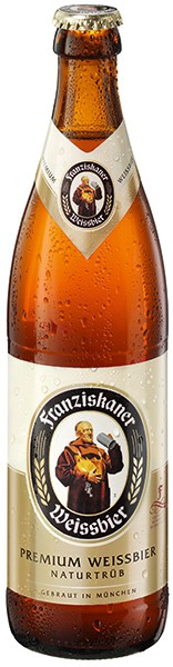 Franziskaner Hefeweizen Natur 20x0,5 l