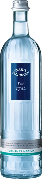 Staatlich Fachingen Gourmet med. 12x0.75 l