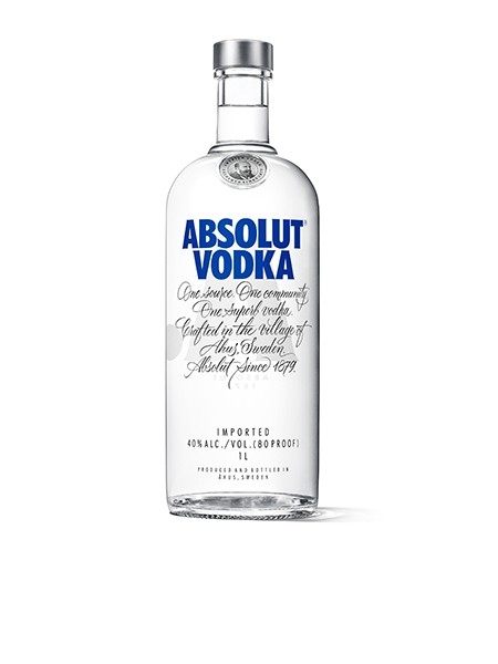 Absolut Blue Vodka 1.0 l