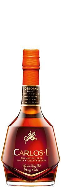 Carlos I · Brandy de Jerez Solera Gran Reserva 40% 0,7 l