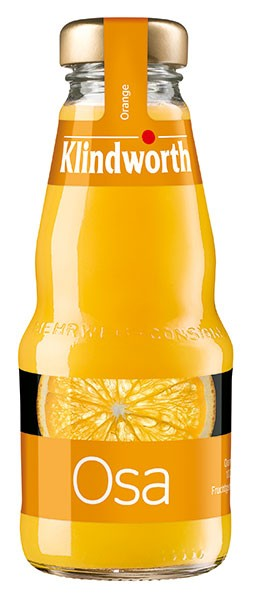 Klindworth Osa (Orangensaft) 24x0,2 l Kiste