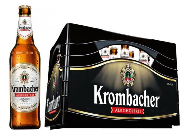 Krombacher Weizen Alkoholfrei 20x0,5 l