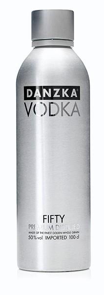 Danzka Vodka 50% 1,0 l