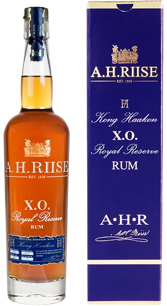 A.H. Riise X.O. Reserve Rum Kong Haakon 0,7l