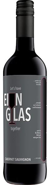 Ein Glas Cabernet Sauvignon 0,75l
