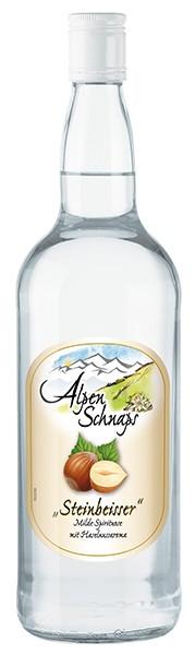 Alpenschnaps Haselnuss 1,0 l