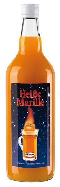 Nannerl Punsch Heiße Marille Konzentrat 18% 1,0 l