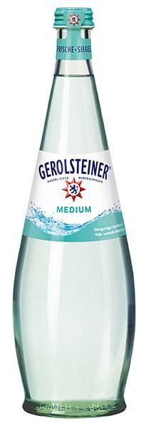 Gerolsteiner Gourmet Medium 12x0.75 l