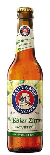 Paulaner Alkoholfrei Zitrone 6er Pack 24x0,33 l