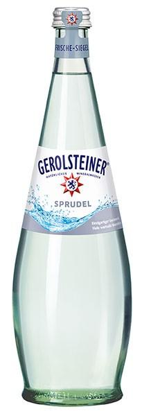 Gerolsteiner Gourmet Sprudel 12x0.75 l