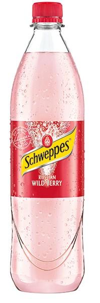 Schweppes Wild Berry PET 6x1,0 l