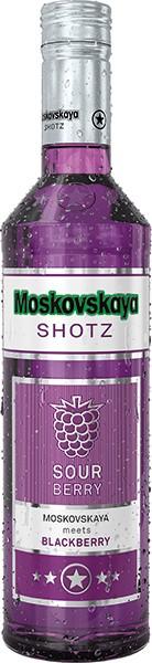 Moskovskaya Shotz · Sour Berry · 17% 0,5 l