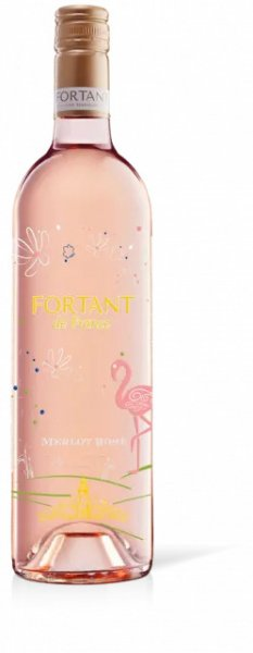 Merlot rosé IGP Fortant 0,75 l