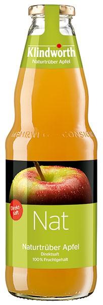 Klindworth Nat (Naturtrüber Apfel) 6x1,0 l Kiste