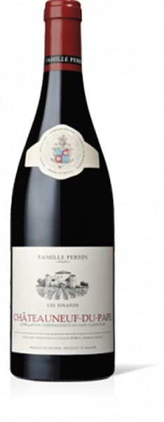 Famille Perrin Les Sinards Châteauneuf-du-Pape AOC Rouge 0,75