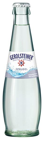 Gerolsteiner Gourmet Sprudel 24x0,2 l