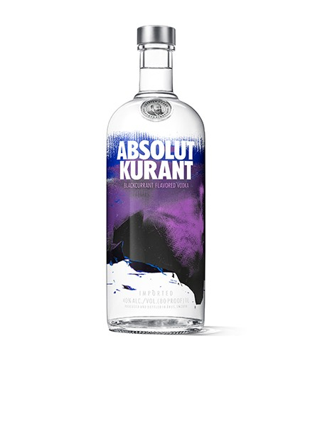 Absolut Vodka Kurant1,0 l
