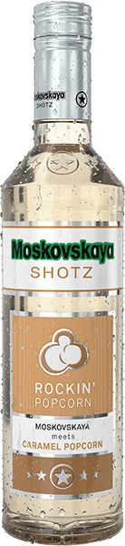 Moskovskaya Shotz · Rockin´ Popcorn · 17% 0,5l