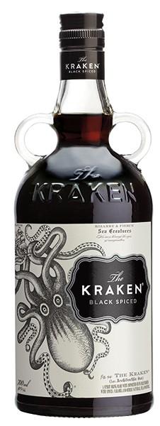 The Kraken Black Spiced 40% 0,7 l
