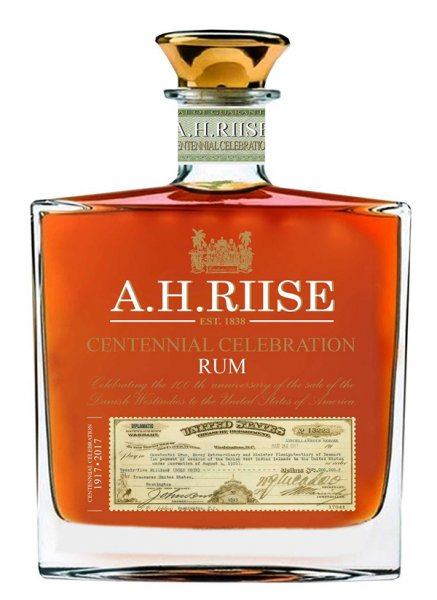 A.H.Riise Centennial Celebration Rum 0,7 l