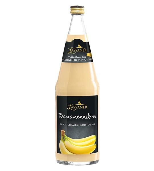 Lassaner Bananen-Nektar 6x1,0 l