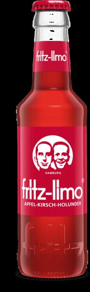 fritz-limo apfel-kirsch-holunder 24x0,33l