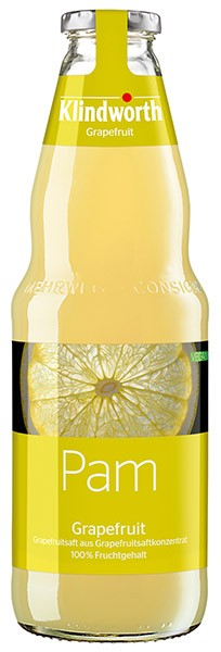 Klindworth Pam (Grapefruitsaft) 6x1,0 l Kiste