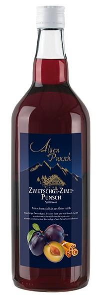 Nannerl Punsch Zwetschge-Zimt Konzentrat 32% 1,0 l