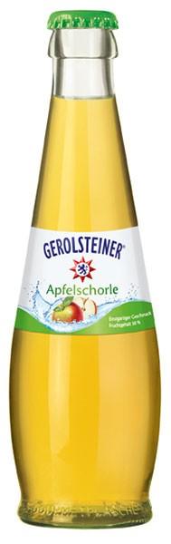 Gerolsteiner Apfelschorle 24x0,25 l