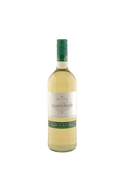 """Marquis Bernard"" Chardonnay Pays d'Oc I.G.P 1,0 l"