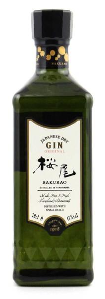 Sakurao 9 Botanicals Gin 47% 0,7 l