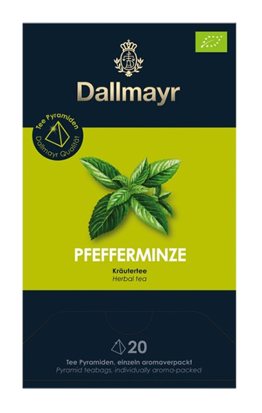 Dallmayr Pfefferminze Bio Kräutertee 20x 1,75g