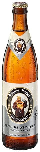 Franziskaner Hefeweizen Kristall 20x0,5 l