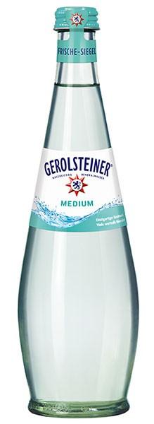Gerolsteiner Gourmet Medium 15x0,5 l